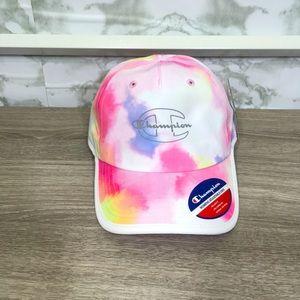 Champion tie-dye hat